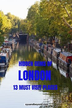 Some of the hidden gems of London never get seen by tourists. London is one of the most exciting cities in the world and London's secret places are a must-see. Travel Tips For Europe, Europe Europe, Travel Destinations, London What To See, London Travel, Travel Uk, Travel Guides, Travel Advice, Ireland Travel