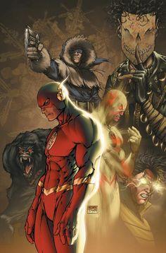 O Flash/Wally West de Michael Turner.