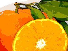 'Art Mandarine' von Dirk h. Wendt bei artflakes.com als Poster oder Kunstdruck $18.03