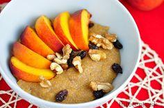 Polenta, Quinoa, Acai Bowl, Pancakes, Healthy Eating, Tasty, Breakfast, Food, Bulgur