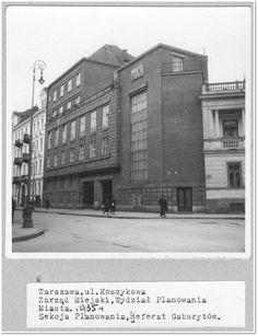 Warszawa, Koszykowa (1935)