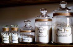 Apothecary Kitchen Jars