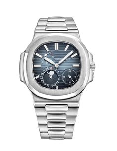 Pre-Owned Patek Philippe ​Nautilus Chronograph Automatic Steel Fossil Watches For Men, Vintage Watches For Men, Luxury Watches For Men, James Bond Rolex, Military Tactical Watches, Patek Philippe Aquanaut, Breitling Watches, Men's Watches, Diamond Watches
