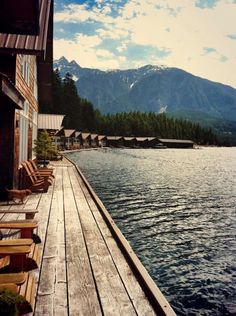 ross lake resort north cascades national park washington- floating cabins