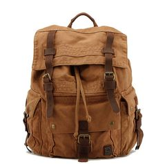 large canvas rucksack #largecanvasrucksack https://canvasbag.co/product/large-canvas-rucksack/