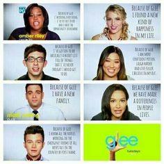 Because of Glee
