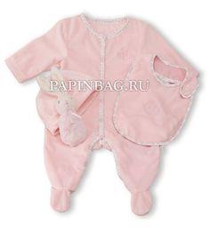"""KALOO Подарочный набор новорожденному """"Perle by Kaloo"""" (розовый мишка), купить"""