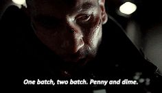 Frank Castle Punisher one batch two batch penny and a dime daredevil season 2