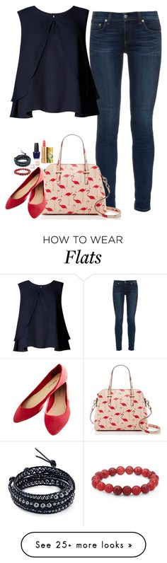 """May 1st :)"" by cora97 on Polyvore featuring rag & bone, Kate Spade, Wet Seal, MAC Cosmetics, Limited Edition, Palm Beach Jewelry, Chan Luu and OPI"