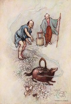 Image result for Green Willow and Other Japanese Fairy Tales warwick goble