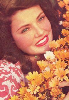 "signorelligirl: ""Gene Tierney, 1941"""