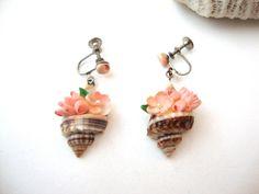 Vintage Shell Earrings