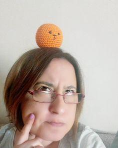 Someone is being really naughty today!  #crochet #virka #virkat #crochê #croche #hakeln #hækle #hækling #häkeln #örgü #ganchillo #crochetaddict #crochetlove #amigurumi #amigurumiaddict #amigurumilove #oranges #creativehappylife by mpleximommy