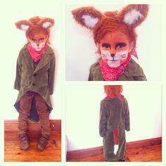 fantastic mr fox on book day.