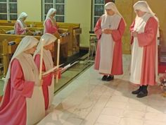Holy Spirit Adoration Sisters (pink sisters!) LOVE THESE SISTERS in Phila. http://adorationsisters.org/prayer-requests/