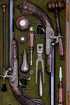 Engraved Pistols