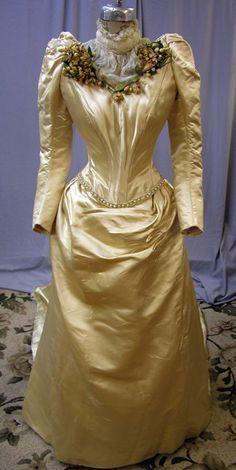 1890's Wedding Gown