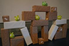 Game at an Angry BIrds Party #angrybirds #partygames