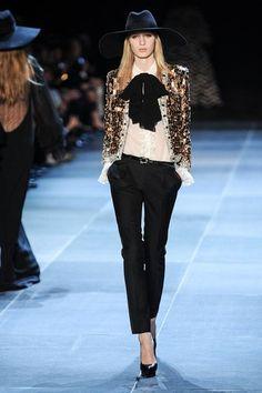 Saint Laurent - Paris Fashion Week Spring Summer 2013