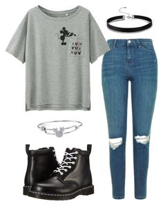 BTS Disney by catarinaalves-i on Polyvore featuring polyvore fashion style Uniqlo Topshop Dr. Martens Disney clothing