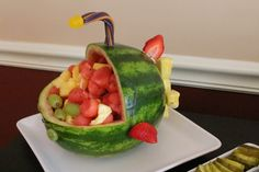 "Octonauts Party - ""GUP-A"" fruit salad"