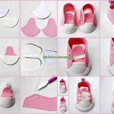 Make Free Patterns 18 Inch Doll Shoes – Bing images… Doll Shoe Patterns, Baby Bibs Patterns, Sewing Patterns For Kids, Doll Crafts, Diy Doll, American Girl Diy, Baby Boy Shoes, Doll Tutorial, Sewing Toys