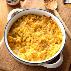 Whether baked or made on the stovetop, our best macaroni and cheese recipes are ooey-gooey family dinner favorites. Creamy Macaroni And Cheese, Macaroni N Cheese Recipe, Cheese Recipes, Mac And Cheese, Pasta Recipes, Pureed Recipes, Meat Recipes, Chicken Recipes, Recipies