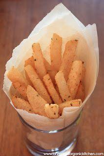 Baked Lime, Cilantro and Chili Infused Jicama Fries + Health Benefits of Jicama
