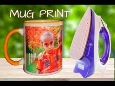 How to Print Photo on Mug at home - Using Electric Iron - YouTube
