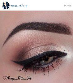 A soft neutral eye #ig #mayamia
