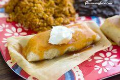 Homemade Beef Tamales recipe via flouronmyface.com