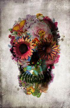 pretty skull
