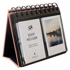 Urvoix 68Álbum de fotos para escritorio, tamaño mini para películas de Fujifilm Instax Mini 8,7s, 25,50s, 90,tarjeta de visita, color rosa: Amazon.es: Hogar