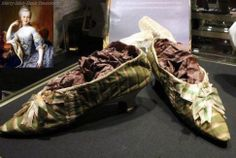 Most expensive royal shoes in the world - Marie Antoinette's slippers $65,600.