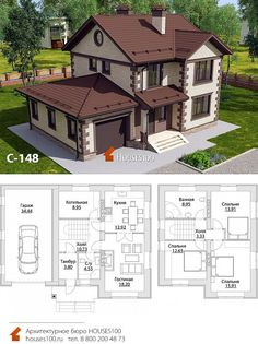Sims House Plans, House Layout Plans, Craftsman Style House Plans, House Layouts, Industrial Home Design, Industrial House, Sims 4 House Design, Model House Plan, Architectural House Plans
