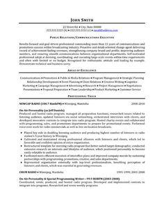 Sample Resume for Public Relations Officer Creative Resume Design