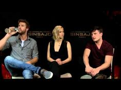 Interview with Jennifer Lawrence, Josh Hutcherson and Liam Hemsworth - the-hunger-games video