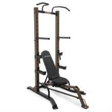 Strengthen abs and other muscles with this Steel Body Power Tower. Letting you perform a vast range of exercises, this home gym keeps you fit without a gym membership. Steel Body Power Tower Made from Muscle Building Workouts, Gym Workouts, At Home Workouts, Workout Tips, Power Tower, Home Gym Equipment, No Equipment Workout, Fitness Equipment, Weight Rack