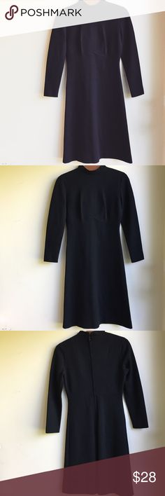 "Vintage long sleeve black dress Jonathan Logan little black dress • Vintage. Size Small-Medium. Chest 16"", Sleeve 25"", Waist 13"", Length 39"" Dresses Long Sleeve"
