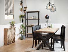 Maak een eiken radiatorombouw | Stappenplan Radiator Cover, Ladder Decor, Diy Furniture, Interior Decorating, Living Room, Bedroom, Wood, Table, House