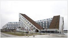 8 Tallet, BIG, 2010. Ørestad, Copenhague. Project 3, Eurotrip, Atrium, Modern Architecture, Buildings, Louvre, Houses, Urban, Travel
