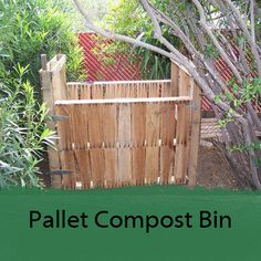 Here are several different kinds of composting bins to make. Something for type of gardener.