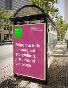 Possible advertising/marketing campaign? Courtesy of Brooklyn Public LIbrary by Susan Murphy, via Behance (Not the Brooklyn Library in Wellington, New Zealand. Library Signage, Library Posters, Library Book Displays, Library Books, Library Ideas, Youth Services, Library Services, Brooklyn Library, Library Events
