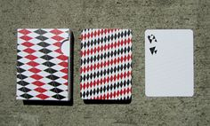 Red + Black Playing Cards | One Widow