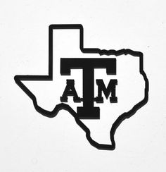Texas A & M Custom Metal Sign by RillaBee on Etsy, $50.00