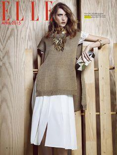 LARUICCI Necklace in Elle Bulgaria <3 Stylist: Davian Lain, Photographer: Damien Kim! shop at: http://laruicci.myshopify.com/collections/necklaces