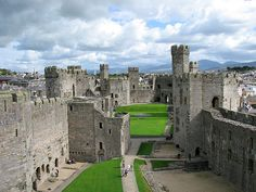 Archaeological discoveries uncovered at Caernarfon Castle in Wales  quote context: http://pllqt.it/wGdvnd