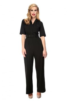 Collectif Vintage Zoe Jumpsuit