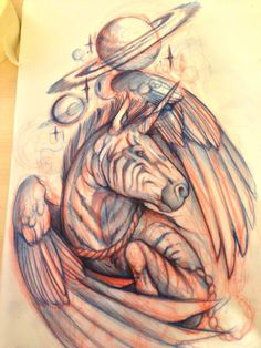 Mitch Allenden, I would love to see the finished tattoo!