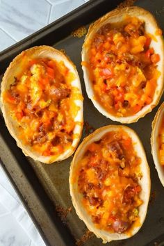 Sausage and Egg Breakfast Tacos are a fun and easy breakfast recipe. These breakfast tacos are made in Old El Paso tortilla bowls and loaded with eggs, maple breakfast sausage, cheddar cheese, sweet bell peppers and bacon. Breakfast Tacos, Breakfast Bake, Sausage Breakfast, Breakfast Bowls, Breakfast Recipes, Breakfast Ideas, Breakfast Pastries, Breakfast Sandwiches, Brunch Recipes